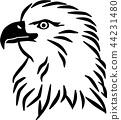 eagle, silhouette, logo 44231480