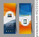 abstract banners set5 44235553