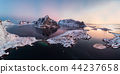 Panorama aerial view of scandinavian archipelago 44237658