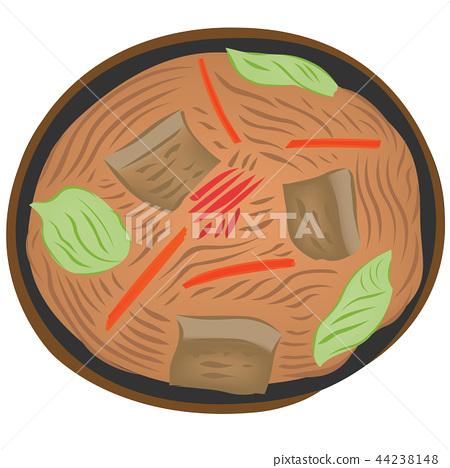 Cooking Illustration Yakisoba 44238148