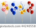 Party Balloons Transparent Set 44240558