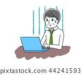 Laptops and senior men 44241593