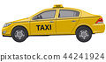 taxi, yellow, car 44241924