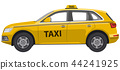taxi, yellow, car 44241925