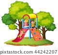 slide, children, playground 44242207