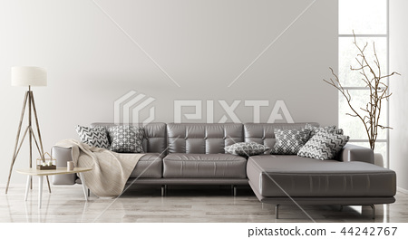 Interior of living room with sofa 3d rendering 44242767