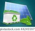 3d, solar, panel 44245567
