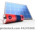 3d, solar, panel 44245666