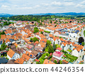 Fussen town aerial view 44246354