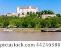 bratislava, castle, danube 44246386