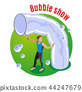 Bubble Show Background 44247679