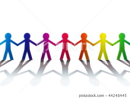 彩虹色彩多樣,形像多樣 44248445