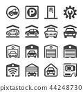 garage icon 44248730