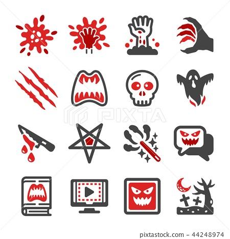 horror icon 44248974