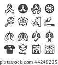 lung cancer icon 44249235