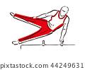 ออกกำลังกาย,กีฬา,บาร์เดี่ยว 44249631