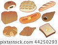 Various bread 44250293