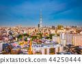 Asakusa, Tokyo, Japan Skyline 44250444