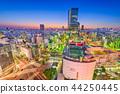 Shibuya, Tokyo, Japan Skyline 44250445