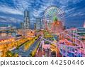 Yokohama, Japan Skyline 44250446