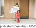 傘 雨衣 外出 44251859