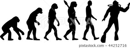 Scuba Diving Evolution 44252716
