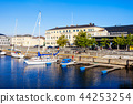 Trondheim pier in Norway 44253254