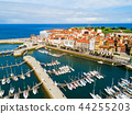 Gijon city marina in Asturias, Spain 44255203