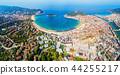 San Sebastian aerial panoramic view 44255217