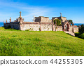 Old cemetery and church, Comillas 44255305