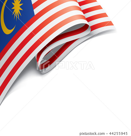 Malaysia flag, vector illustration on a white background. 44255945