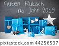 Gifts, Guten Rutsch 2019 Means Happy New Year 44256537