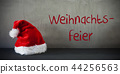 Santa Hat, Weihnachtsfeier Means Christmas Party 44256563