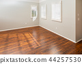 Newly Installed Laminate Flooring and Baseboards 44257530