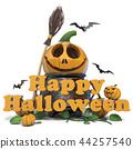 happy, halloween, greeting 44257540