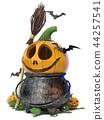 halloween, 3d, pumpkin 44257541