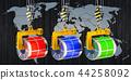Global trade of galvanized steel sheet 44258092