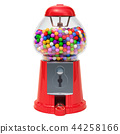 Gumball machine, gum dispencer. 3D rendering 44258166