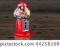 Gumball machine, gum dispenser 44258168