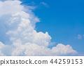 藍天天空雲彩入站雲彩背景背景材料 44259153