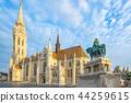 Matthias Church in Budapest city, Hungary 44259615