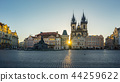 Prague old town square in Prague city, Czech 44259622