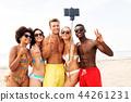 beach, summer, selfie 44261231