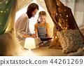 family, tablet, kids 44261269