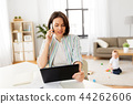 tablet woman business 44262606