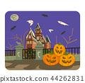 Halloween castle 44262831