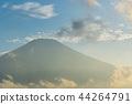 富士山 暮色 黄昏 44264791