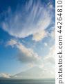 山梨县 富士山 山中湖 44264810