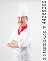 叟 老年人 廚師 44265299