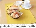 빵 아침 식사 44265382